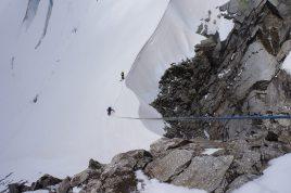 Innominata ridge (D+:5c:M2 3220m), Mt Blanc 2