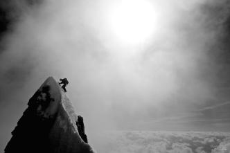 Arête de l'Innominata, Mont Blanc