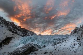 Front du glacier d'Argentière